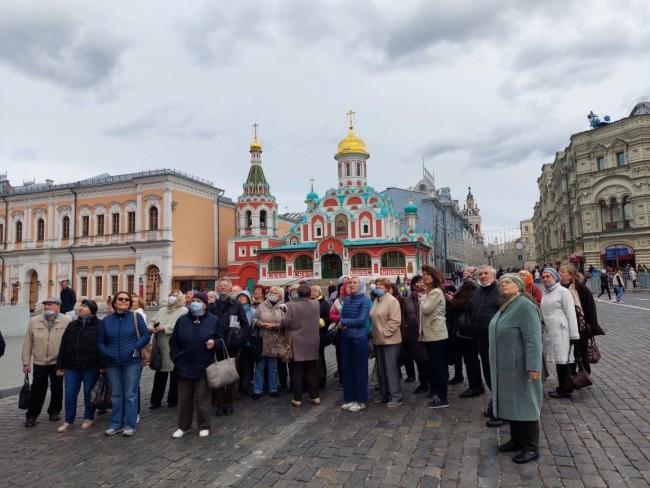В ЦСО «Кунцевский» состоялась автобусная экскурсия «Москва готическая»
